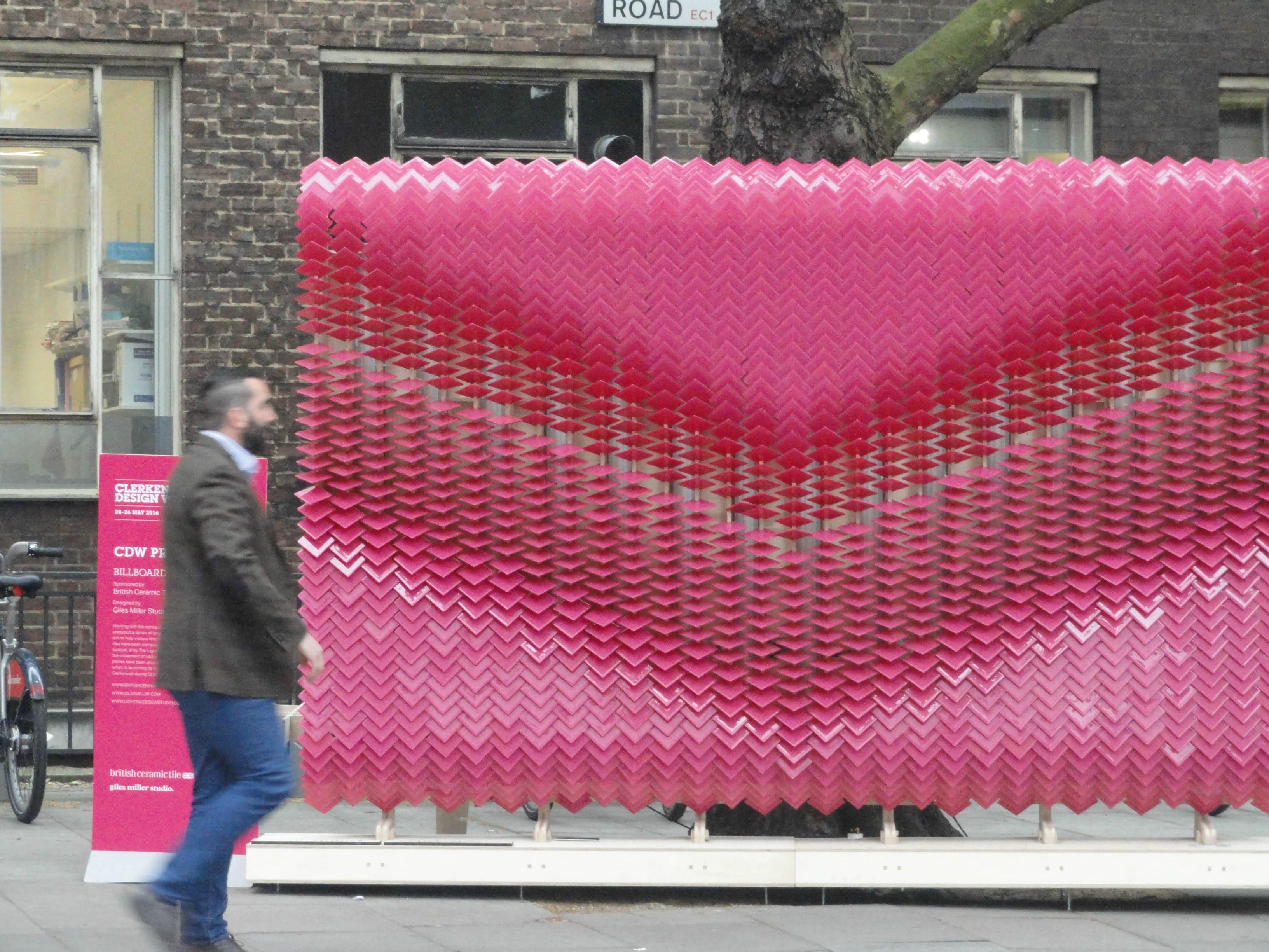 Clerkenwell Design Week 2016