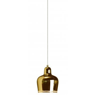 Artek A330S Golden Ball Pendant Light