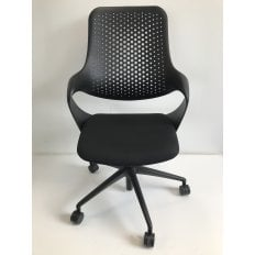 Boss Coza Chair - Black - Clearance Chair