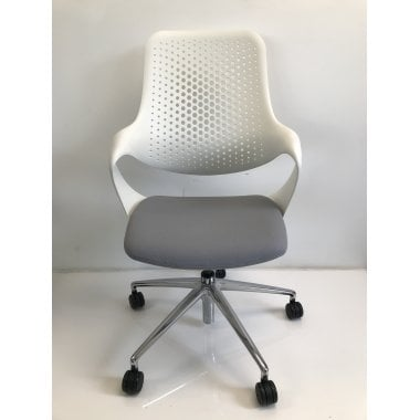 Boss Design Boss Coza Chair - White - Clearance Chair