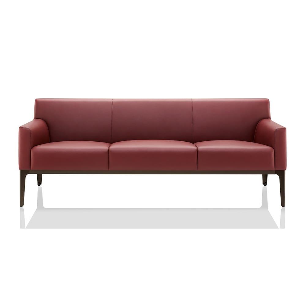 m bel boss couch hochbarett black three seater sofa from wittmann moebel hochbarett black. Black Bedroom Furniture Sets. Home Design Ideas