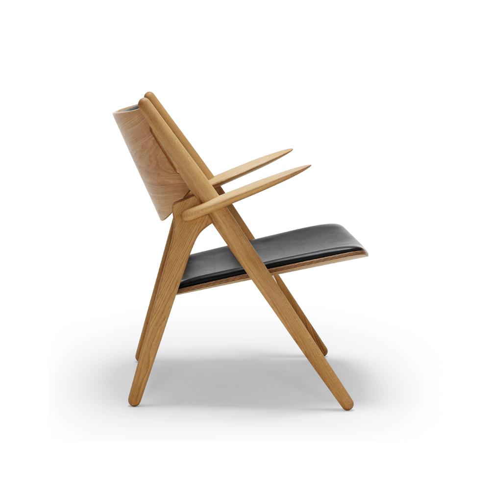 carl hansen ch28 lounge chair. Black Bedroom Furniture Sets. Home Design Ideas