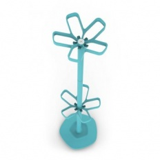 Cascando Flower Coat Stand