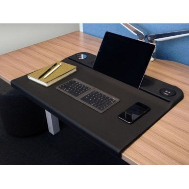CMS Wireless Charging Desk Mat