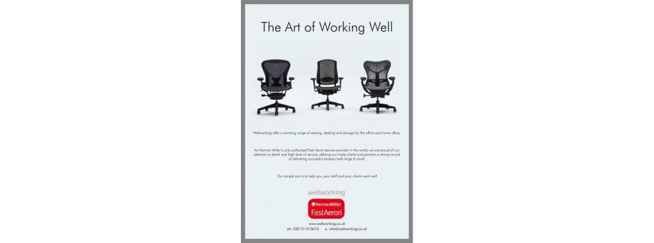 Wellworking in the Fast Aeron Ad
