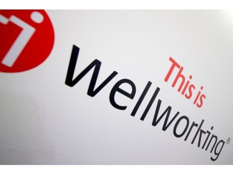 Wellworking staircase logo