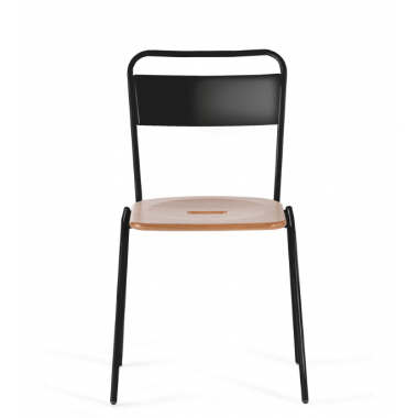 Deadgood Working Girl Dining Chair - Black Frame - Stock