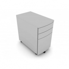 Elite 3 Drawer Steel Mobile Pedestal