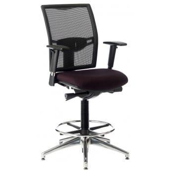 elite loreto draughtsman chair