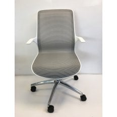 Elite Tempo - White Clearance Chair- Ex-Demo Model