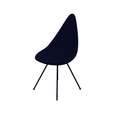 Fritz Hansen Drop Plastic Chair