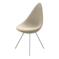 Fritz Hansen Drop Upholstered Chair