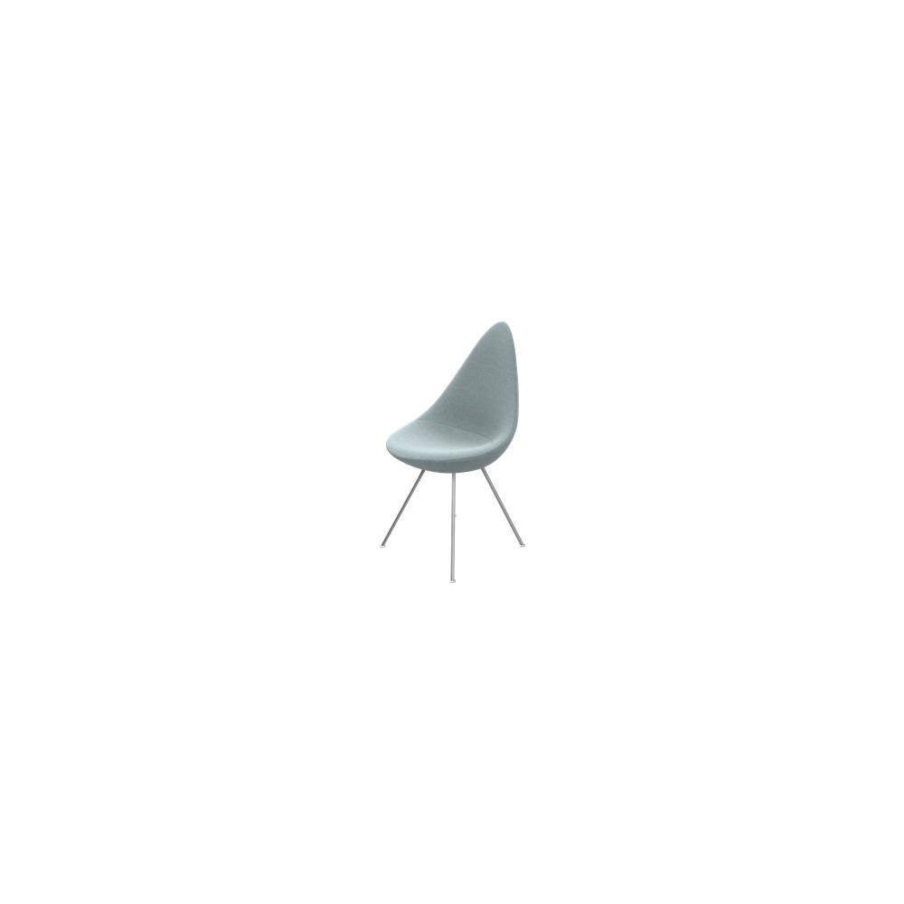 fritz hansen drop upholstered chair. Black Bedroom Furniture Sets. Home Design Ideas