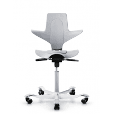 HAG Capisco Puls 8010 Light Grey Stock Chair