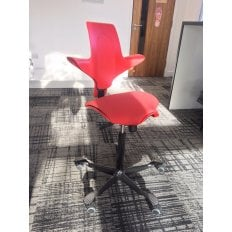 HAG Capisco Puls 8020 - Red - Ex-Demo Chair