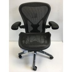Herman Miller Aeron Chair - B Size - Classic Posturfit Version - Clearance Ex-Demo Model