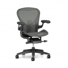 Herman Miller Aeron Chair Carbon - Size C (large) - Precision