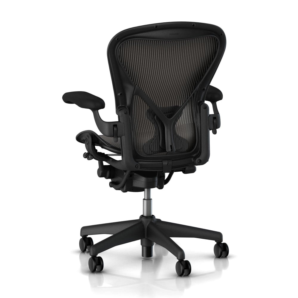 herman miller aeron chair classic carbon. Black Bedroom Furniture Sets. Home Design Ideas