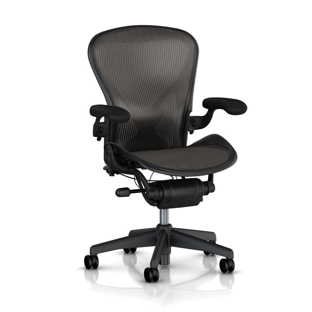 classic office chair. Herman Miller Aeron Chair (Classic) - Classic Carbon Precision Office