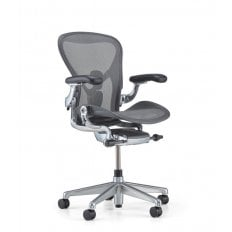 Herman Miller Aeron Chair - Executive Graphite - Size A (small)