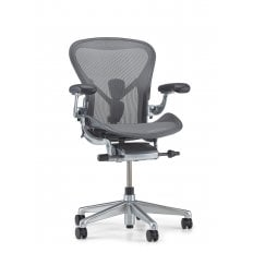 Herman Miller Aeron Chair - Executive Graphite - Size B (medium)