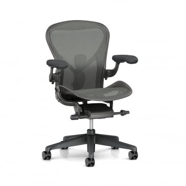 Herman Miller Aeron Chair (New) Carbon - Precision