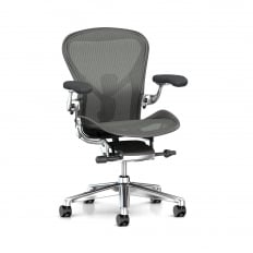 Herman Miller Aeron Chair (New) Executive Carbon - Precision