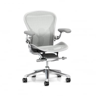 Herman Miller Aeron Chair (New) Executive Mineral - Precision