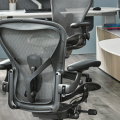 Herman Miller Aeron Chair (New) Graphite - Precision