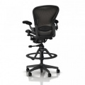 Herman Miller Aeron Work Stool