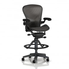 Herman Miller Aeron Work Stool - Precision