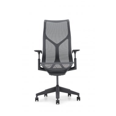 Herman Miller Cosm High Back Chair - Graphite - Precision