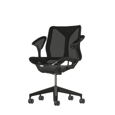 Herman Miller Cosm Low Back Chair - Graphite Stock Version