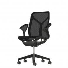 Herman Miller Cosm Medium Back Chair - Graphite Stock Version