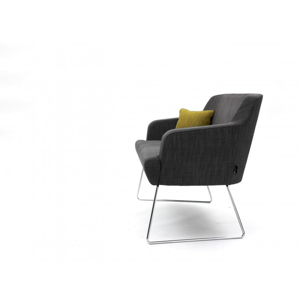 brian herman swoop kane fabric leather prod by product miller armchair contemporary chair visitor europe plywood