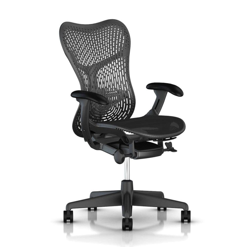 herman miller precision stock chairs - herman miller mirra  chair graphite triflex  precision