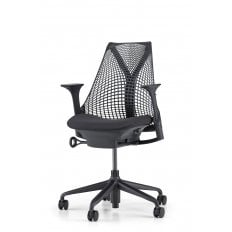 Herman Miller Sayl Chair Black - Commercial - Precision