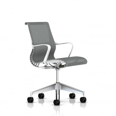Herman Miller Setu Chair White / Alpine