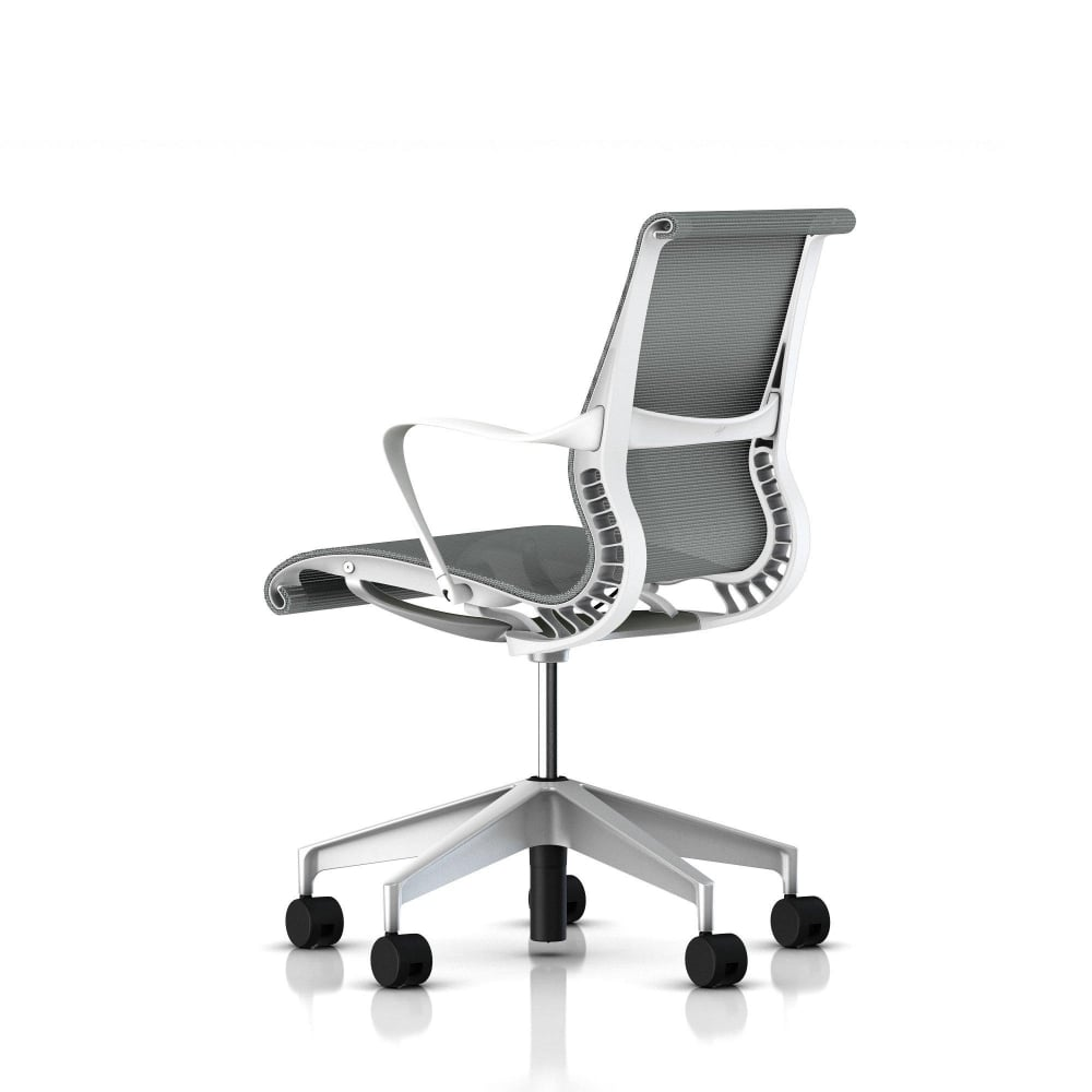 Herman Miller Setu Chair White Precision