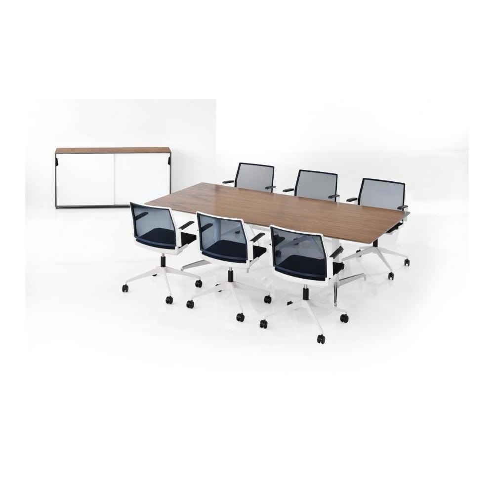 Holmris Genese Height Adjustable Meeting Table - Height adjustable meeting table
