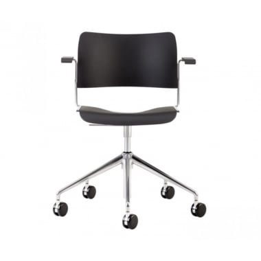 Howe 40/4 Swivel Plastic Chair