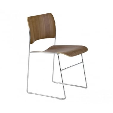Howe 40/4 Veneer Stacking Chair