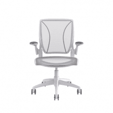 Humanscale Diffrient World Chair - White - Stock Chair