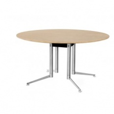 Icons of Denmark Spinal Round Four Column Table