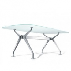 Interstuhl Silver Table