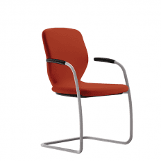 Komac App Fully Upholstered Cantilever Chair