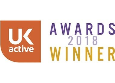 UK Active Awards 2018 Winner
