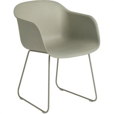 Muuto Fiber Sled Base Arm Chair