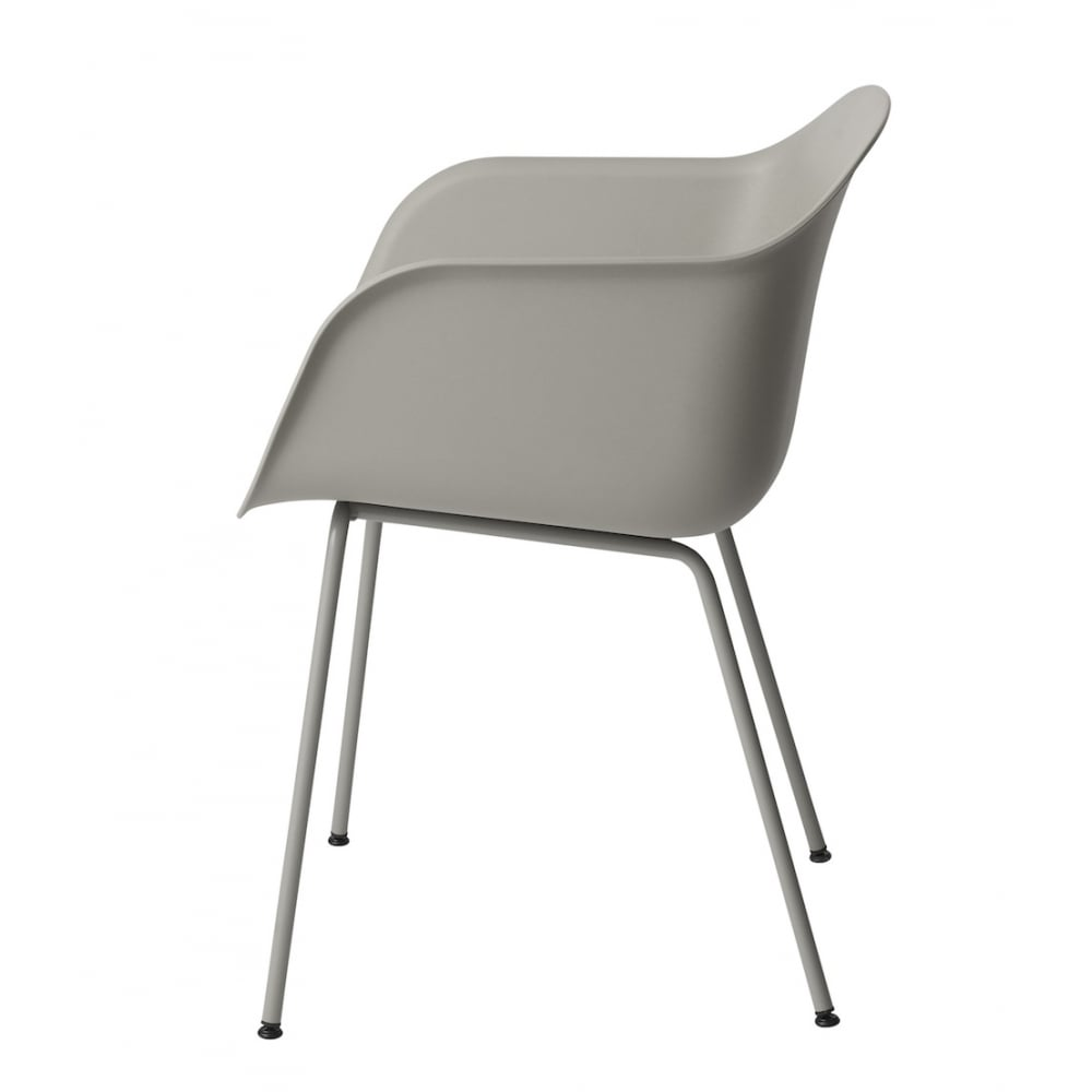 muuto fiber tube base arm chair. Black Bedroom Furniture Sets. Home Design Ideas
