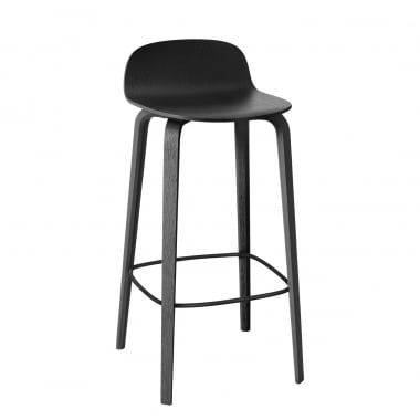 Muuto Visu Wood Base Bar Stool